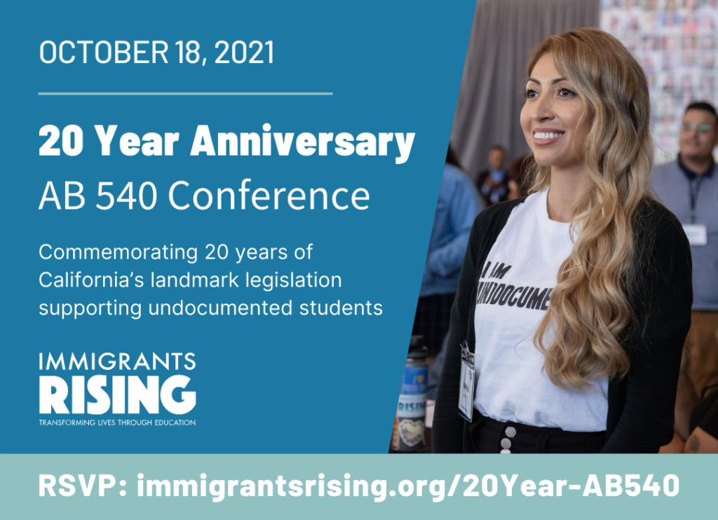 AB 540 Turns 20 — Join the Celebration and Call to Action