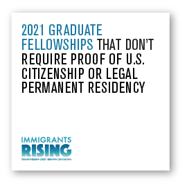 2021 Graduate Fellowships