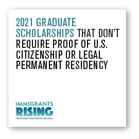 2021 Graduate Scholarships
