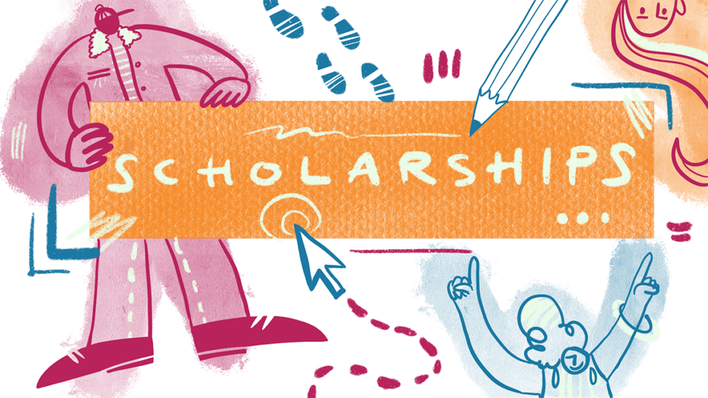 Art for 2021 scholarship and fellowship annnouncement