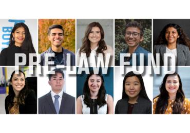 2021 Pre-Law Fund Recipients