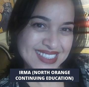 Irma (North Orange Continuing Education)