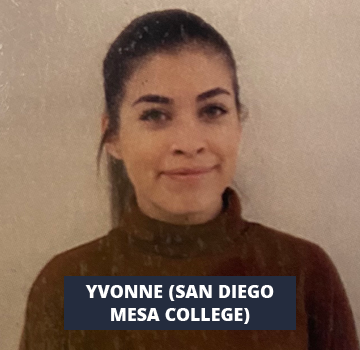 Yvonne (San Diego Mesa College)