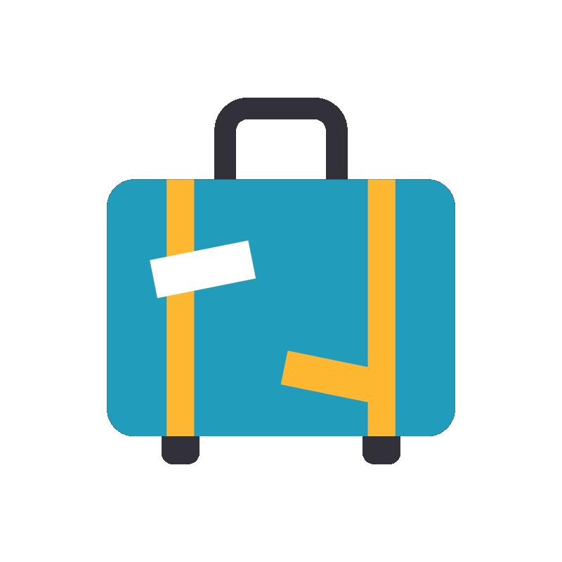 Icon: luggage