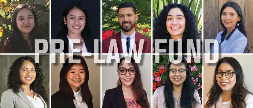 Pre-Law Fund 2020 Recipients