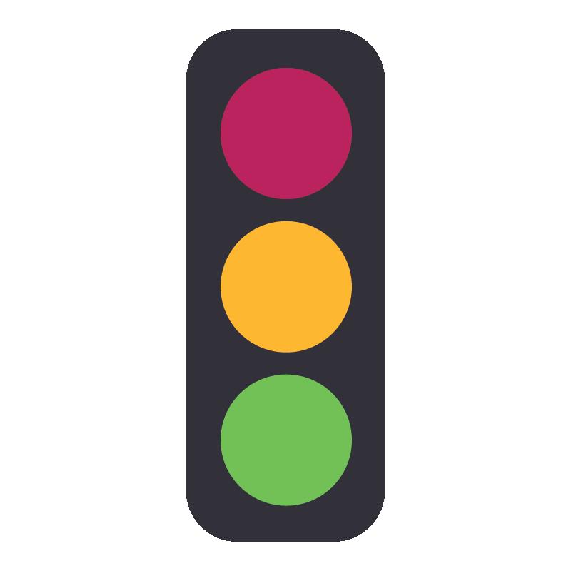 Icon: traffic light
