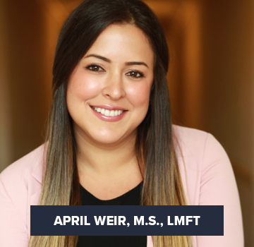 April Weir, M.S., LMFT