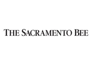 Logo of The Sacramento Bee news media.