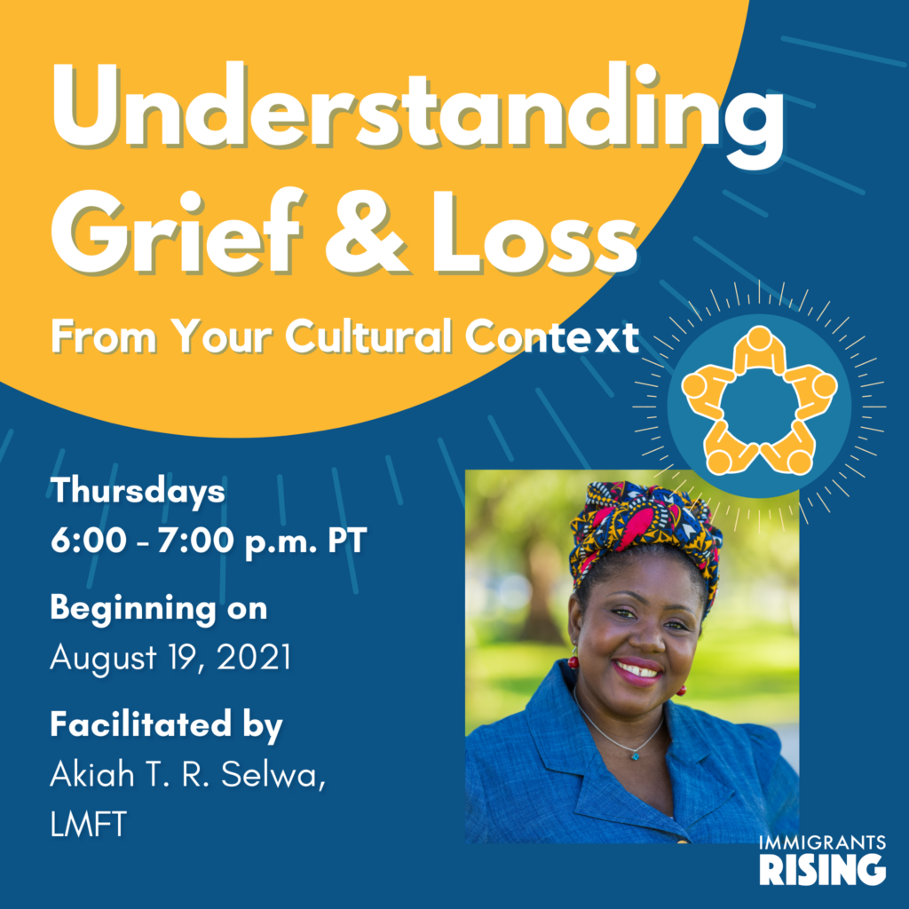 Understanding Grief and Loss from Your Cultural Context