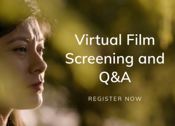 Promotional Banner of the Virtual Film Screening and Q&A